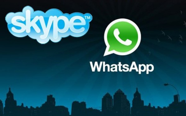 Travel the world with Skype and Whatsapp
